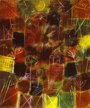 Paul Klee- Cosmic Composition