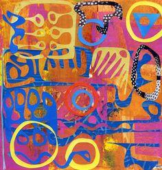 49c378366d78e76e9aec71118d3721c3--colorful-paintings-brown-art
