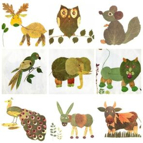 Creative-Leaf-Animal-Art-thumb